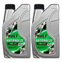 Антифриз ROLF Antifreeze G11 Green 1л (2 канистры)