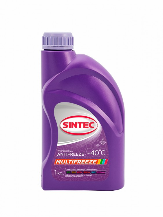 Антифриз Sintec ANTIFREEZE MULTI FREEZE 1кг