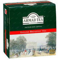 Чай Ahmad «English Breafast» (100 пак.)