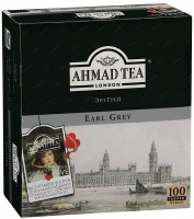 Чай Ahmad Tea Earl Grey (100 пак.)