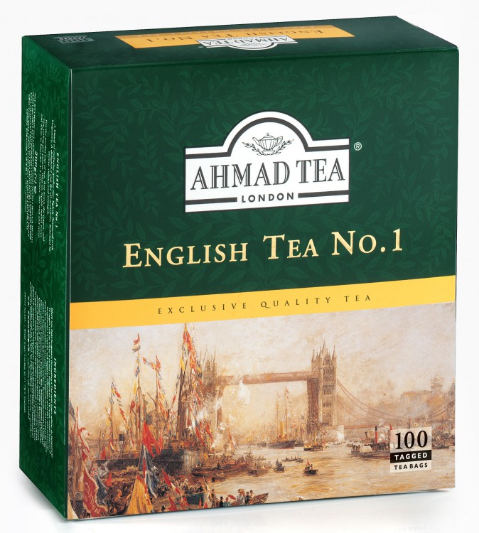 Чай Ahmad Tea English №1 (100 пак.)