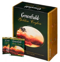 Чай Greenfield Golden Ceylon (100 пак.)